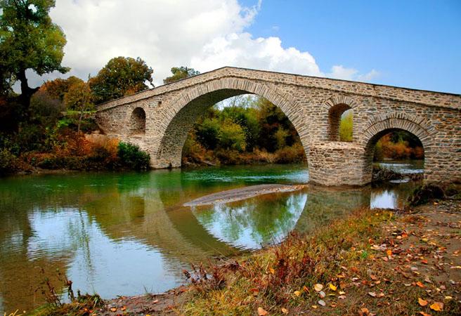 Ziaka Bridge , Monuments & sights, wondergreece.gr