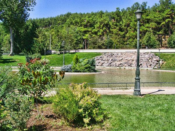 Municipal Park Kozani, Monuments & sights, wondergreece.gr