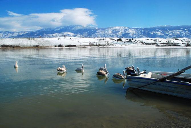Lake Polifitos, Lakes, wondergreece.gr