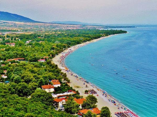 Παντελεήμονας, Παραλίες, wondergreece.gr