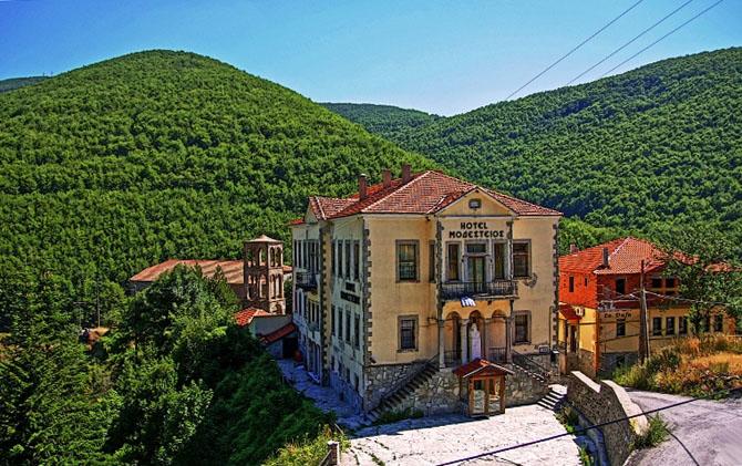 Pisoderi, Main cities & villages, wondergreece.gr