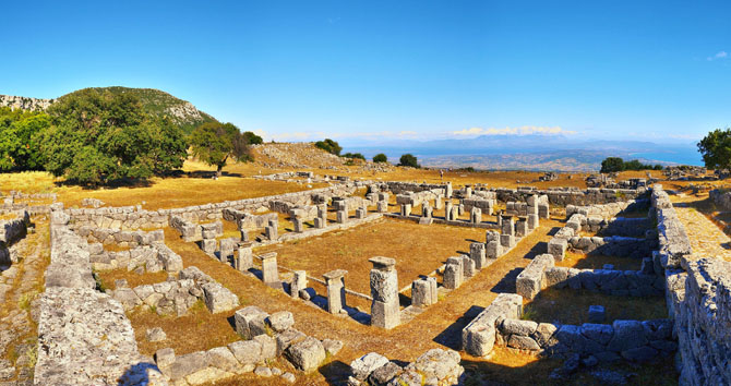 Αρχαία Κασσώπη, Αρχαιολογικοί Χώροι, wondergreece.gr