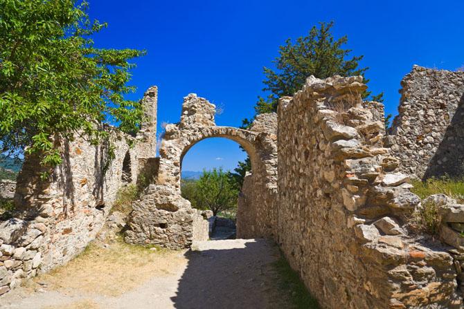 Μυστράς, Κάστρα, wondergreece.gr