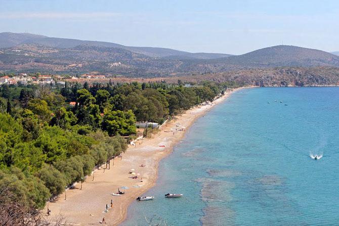 Ασίνη, Παραλίες, wondergreece.gr