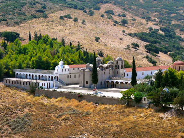Μονή Αγίας Μαρίνας, Εκκλησίες & Μοναστήρια, wondergreece.gr