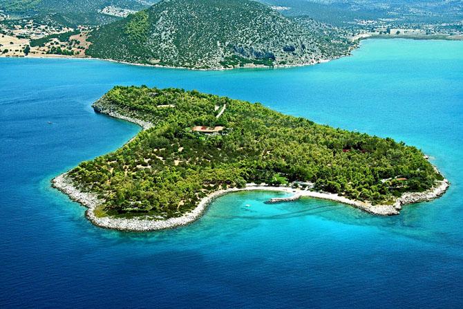 Νήσος Κορωνίδα, Μνημεία & Αξιοθέατα, wondergreece.gr