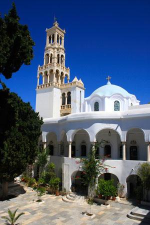 Παναγία Ευαγγελίστρια, Εκκλησίες & Μοναστήρια, wondergreece.gr