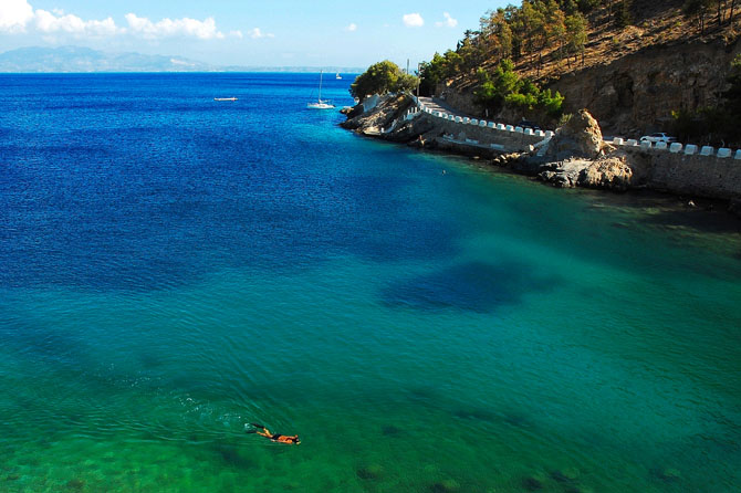 Gefyra, Beaches, wondergreece.gr