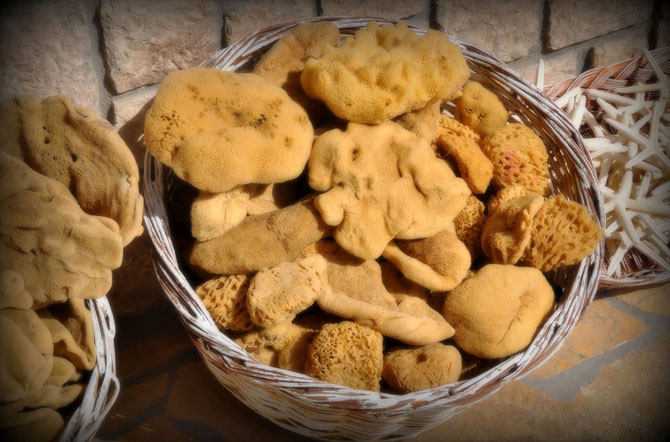 Sponges of Kalymnos, Local products, wondergreece.gr