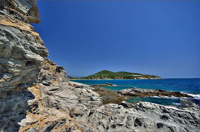 Ακρωτήριο Βρασίδα, Παραλίες, wondergreece.gr