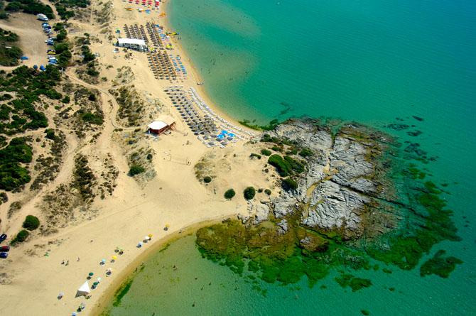 Αμμόλοφοι, Παραλίες, wondergreece.gr