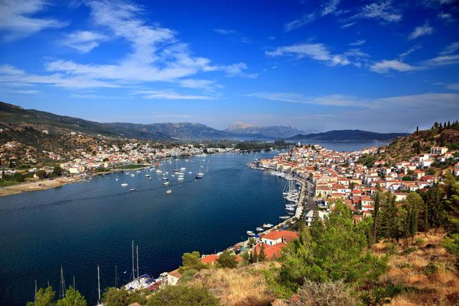 Poros, Main cities & villages, wondergreece.gr