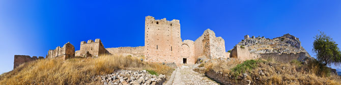 The Castle of Acrokorinthos , Archaelogical sites, wondergreece.gr