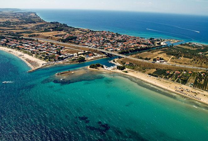 Nea Potidea, Main cities & villages, wondergreece.gr