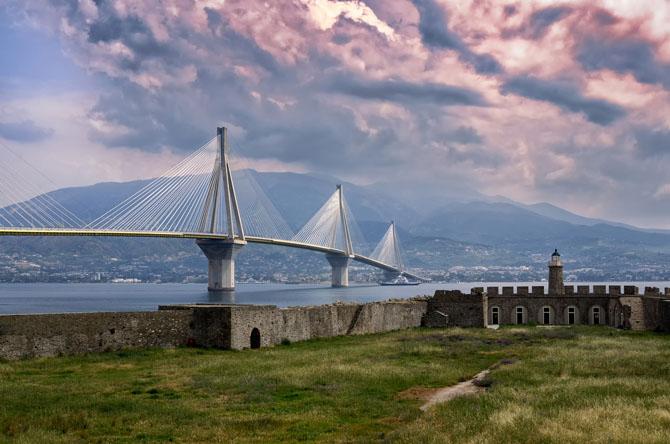 Γέφυρα Ρίου–Αντιρρίου, Μνημεία & Αξιοθέατα, wondergreece.gr