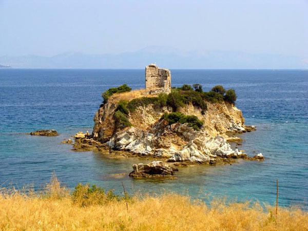Nisiotissa Tower, Castles, wondergreece.gr