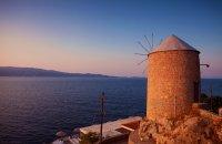 Windmills, Hydra, wondergreece.gr