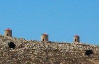 Windmills, Chalki, wondergreece.gr