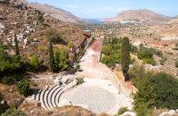 Charkadio theater, Tilos, wondergreece.gr