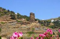 Tower of Agios Petros, Andros, wondergreece.gr