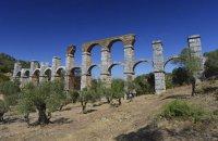 Roman Aqueduct of Moria, Lesvos, wondergreece.gr
