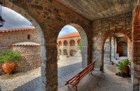 Pamegiston Taxiarchon Monastery (Monastery Pithariou), Lesvos, wondergreece.gr