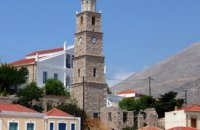 Clock Tower, Chalki, wondergreece.gr